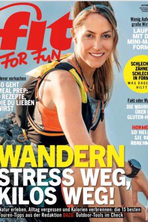 Cover FIT FOR FUN Gela Allmann