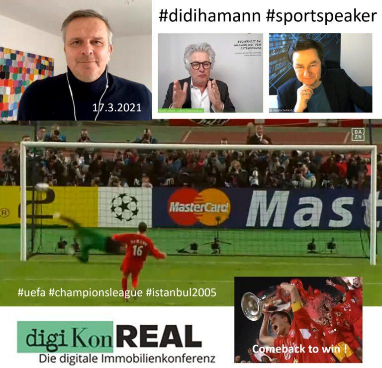 Didi Hamann online auf Immobilienmesse DigiKonReal 2.0