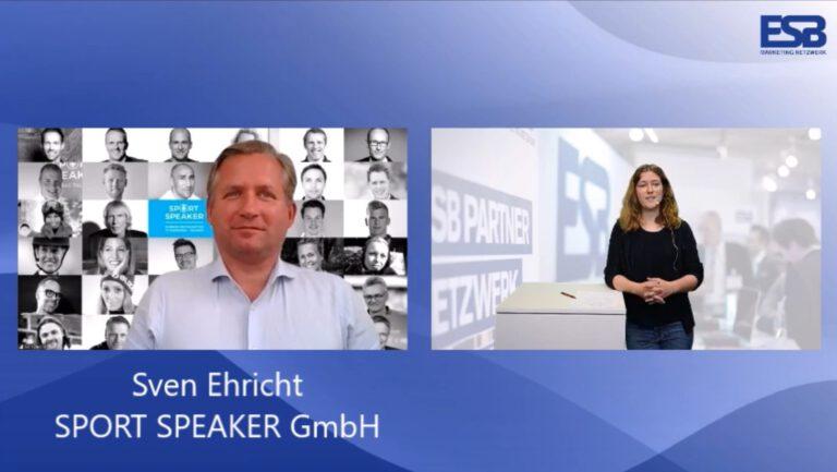 Experten-Interview mit Sven Ehricht über SPORT SPEAKER GmbH